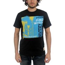 Jimi Hendrix - Mens Backstage T-shirt in Black