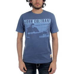 John Coltrane - Mens Playback T-shirt in Navy