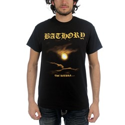 Bathory - Mens The Return T-shirt in Black