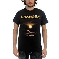 Bathory - Mens The Return T-shirt in Black