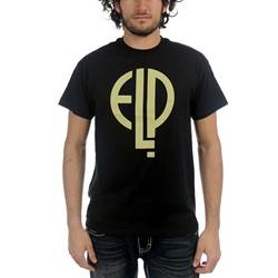 ELP - Mens High Voltage Logo T-shirt in Black