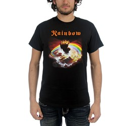 Rainbow - Mens Rainbow - Rising T-Shirt in Black