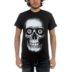 Netherworld  - Giant Skull With Glow Eyes Adult T-Shirt