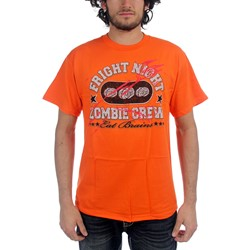Netherworld - Zombie Crew Mens T-Shirt in Orange