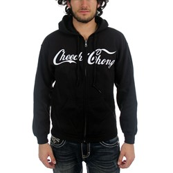 Cheech & Chong - Cola Logo Mens Hoodie In Black
