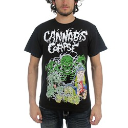 Cannabis Corpse - Mens Ghost Ripper T-Shirt In Black