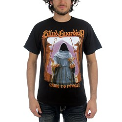 Blind Guardian - Time To Reveal - Dates Mens T-Shirt In Black