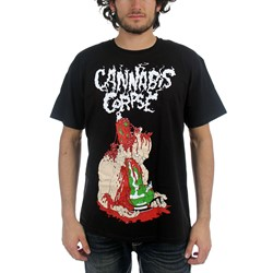 Cannabis Corpse - Mens Deathbong T-Shirt In Black