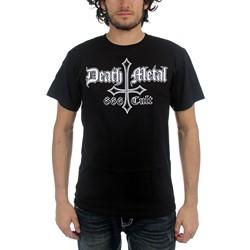 Black Metal - Death Metal 666 Cult Mens T-Shirt In Black