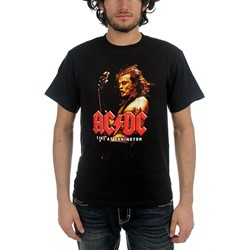 Ac/Dc - Live At Donnington Adult T-Shirt In Black