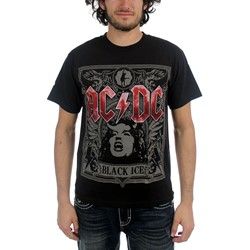 Ac/Dc - Black Ice Angus Adult T-Shirt In Black
