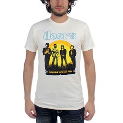 The Doors - Waiting For The Sun Mens S/S T-Shirt In White