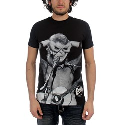 David Bowie - Acoustic Mens S/S T-Shirt In Black