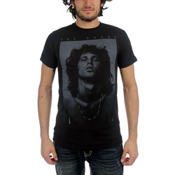 The Doors - Jim Bnw Mens T-Shirt In Black