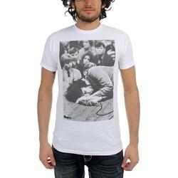 The Doors - Jim Floored Mens T-Shirt In White