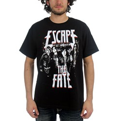 Escape the Fate - Mugshot Adult S/S T-shirt