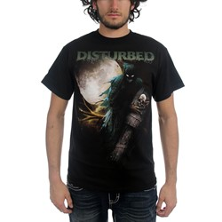 Disturbed - Creepin Coffin Mens S/S T-Shirt In Black