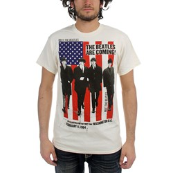 The Beatles - Mens The Beatles Are Coming T-Shirt