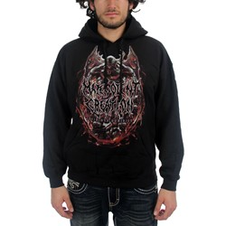 Malevolent Creation - Invidious Album Cover Mens Hoodie In Black