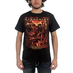 Hypocrisy - Mens Hell Over Sofia T-Shirt In Black