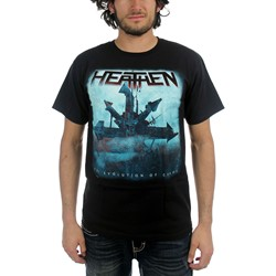 Heathen - Chaos Symbol Mens T-Shirt In Black