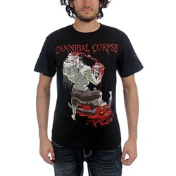 Cannibal Corpse - Mens Rabid T-Shirt In Black