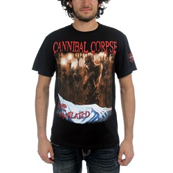 Cannibal Corpse - Mens Tomb Censored T-Shirt In Black