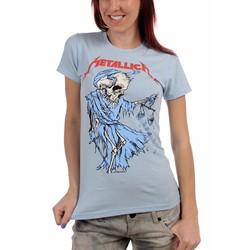 Metallica - Womens Cartoon Reaper T-Shirt