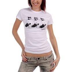 Debbie Harry - Womens Blue Jackets T-Shirt in White