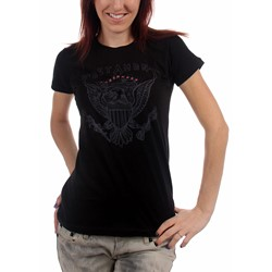 Testament - Womens True American Hate - Girls T-Shirt in Black