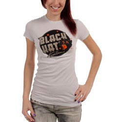 Black Kat Custom - Black Kat Show Girls S/S T-Shirt In Grey
