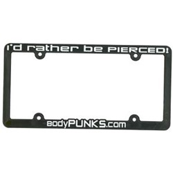 BodyPUNKS License Plate