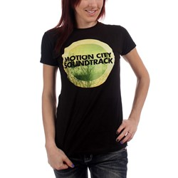 Motion City Soundtrack - Womens Go Album Logo Womens T-Shirt