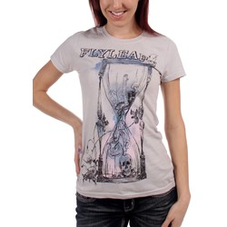 Flyleaf - Running Out Juniors T-shirt in Grey