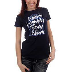 Dr. Who - Womens Wibbly Wobbly T-Shirt
