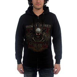 Disturbed - Medieval Hoodie Mens Hoodie In Black