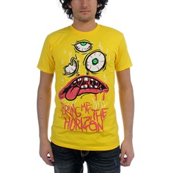 Bring Me The Horizon - Kk Yellow Mens T-Shirt In Yellow