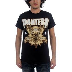 Pantera - Hostile Skull Mens T-Shirt In Black