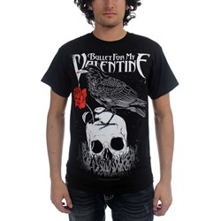 Bullet For My Valentine - Mens Raven T-Shirt In Black