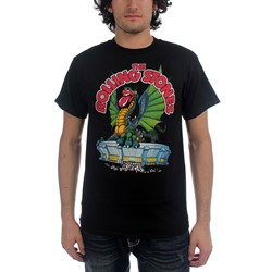 Rolling Stones - Dragon Tongue Mens S/S T-Shirt In Black