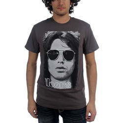 The Doors - Summer Glare Mens T-Shirt In Charcoal