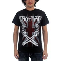 Bullet For My Valentine - Mens Cross Guns T-Shirt In Black