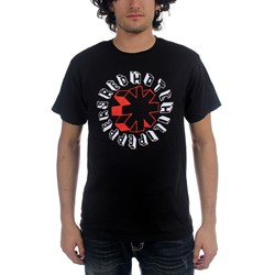 Red Hot Chili Peppers - Hand Drawn Mens T-Shirt In Black