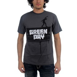 Green Day - Razor Walk Mens S/S T-Shirt In Grey