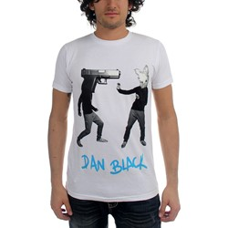 Dan Black - Gunhead Vs. Rabbit Adult S/S T-shirt