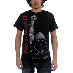 Disturbed - Up Your Fist Mens T-Shirt In Black