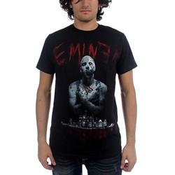 Eminem - Mens Horror T-shirt in Black