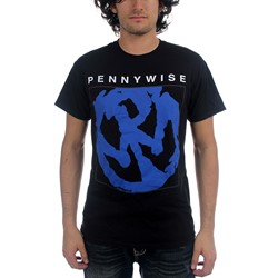 Pennywise - Mens Blue Logo T-Shirt
