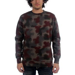 HUF - Mens Spray Camo Crew Sweater