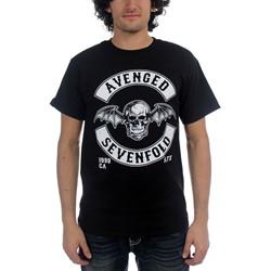 Avenged Sevenfold - Mens Deathbat Crest T-Shirt In Black